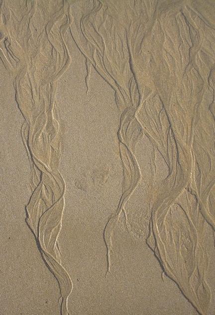 du sable dans les cheveux