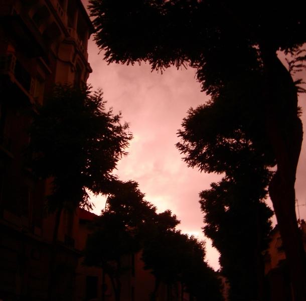 jour d'orage rosé