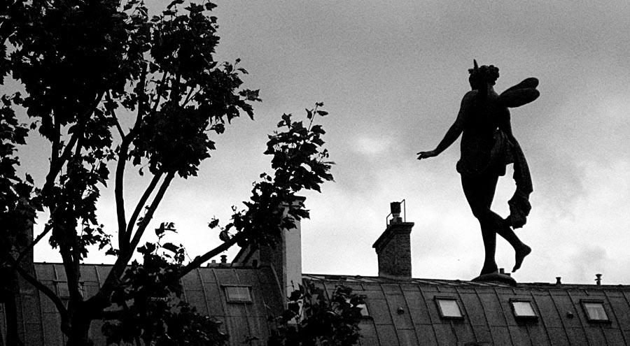 balade de fée sur les toits