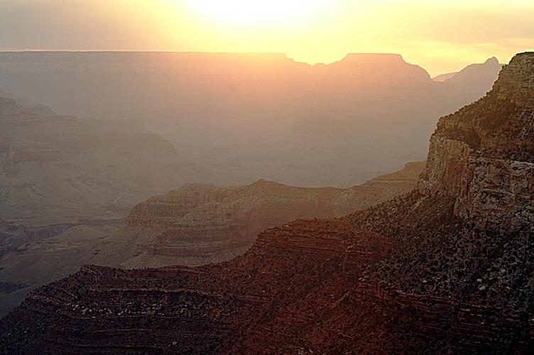 5h, grand canyon s'éveille (ou pas)