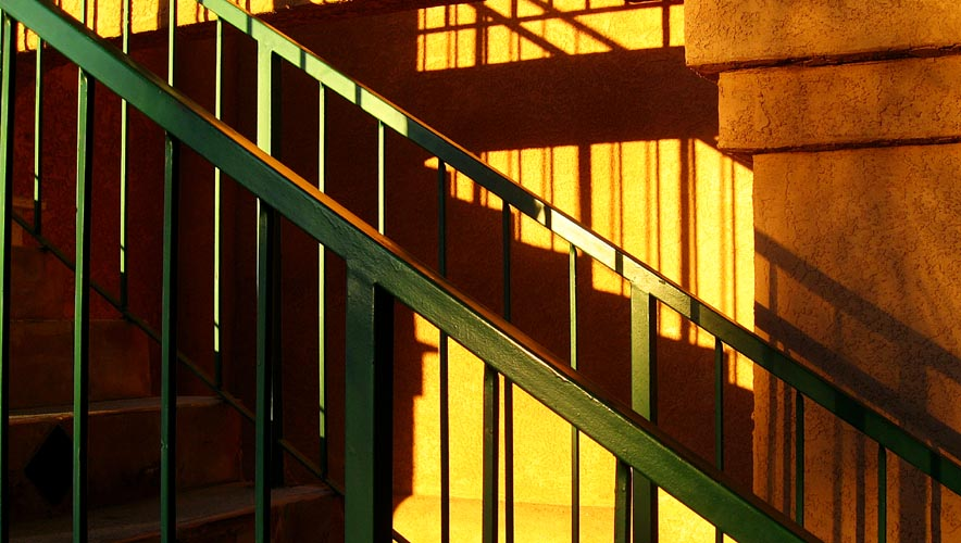 l'escalier tigré