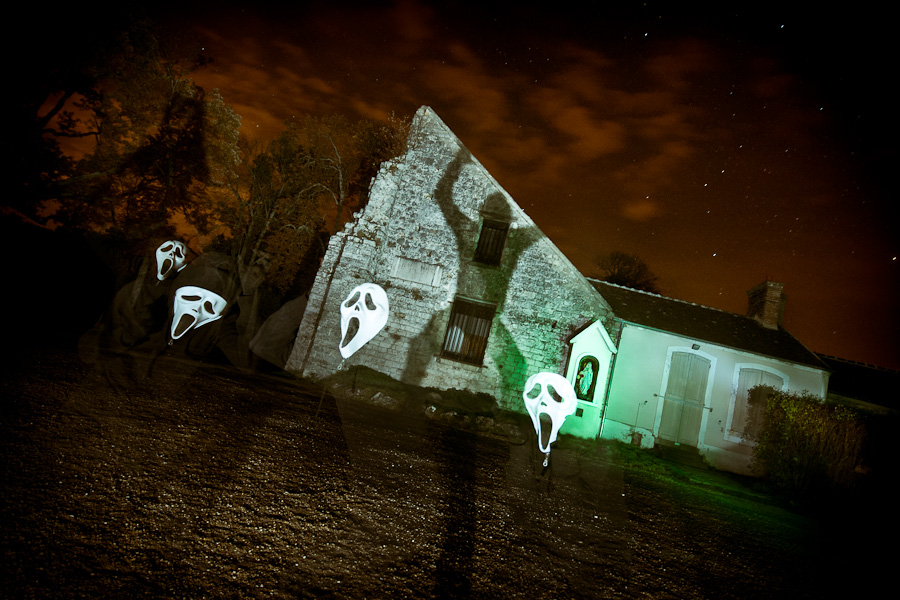 lightoween (lightpainting de saison)