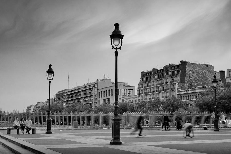 les skateurs de la Bastille