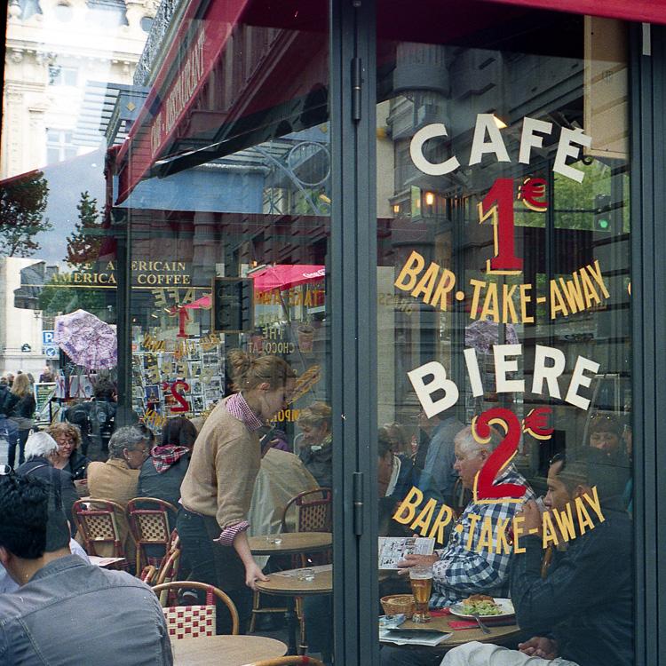 café 1 - bière 2
