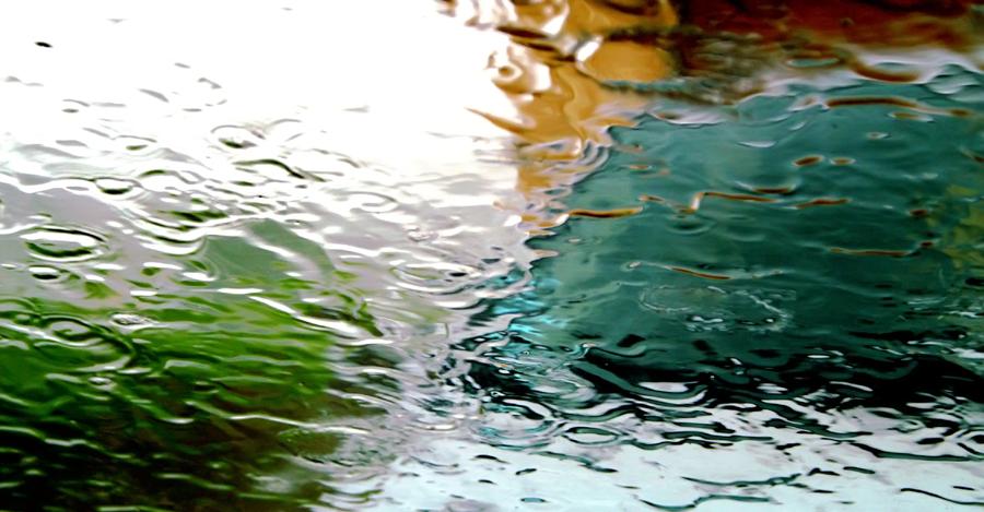 rideau de pluie