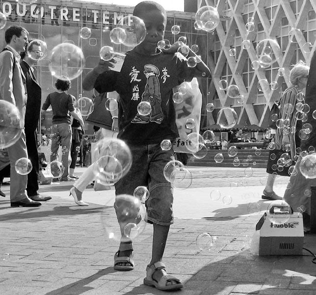 une boisson qui fait des bulles