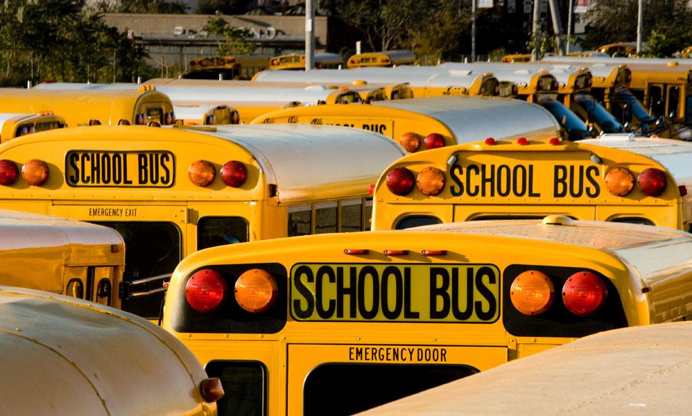 where the school bus go