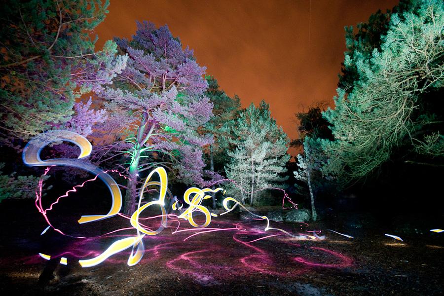lightoween (saison de lightpainting)