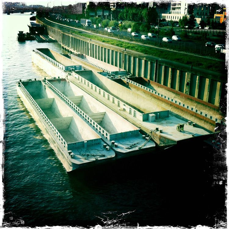 une histoire de barges