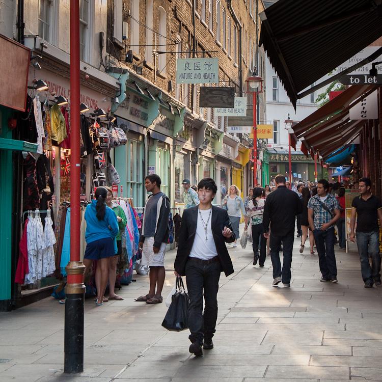 Crossing, Chinatown, London